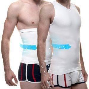Ensemble T-shirt et ceinture minceur SEBAS