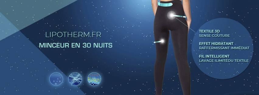 Lipotherm, des vêtements dotés d'une technologie qui vous aide à mincir