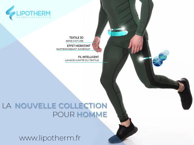 La nouvelle collection de vêtements en fibre Emana pour hommes de Lipotherm